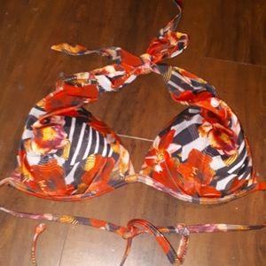 AQUA size med bikini top